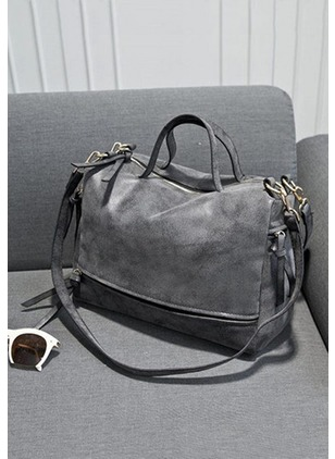 Shoulder Totes Fashion PU Gray Rose Military Green Large Bags