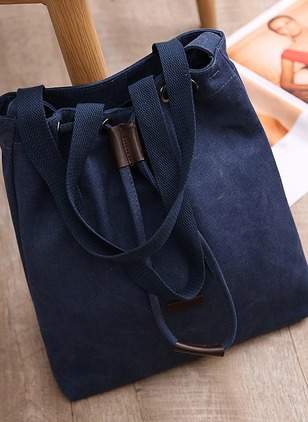 Totes Fashion Canvas Black Beige Dark Blue Large Bags