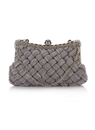 Clutches Fashion Polyester Black White Gray Small Bags