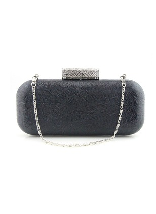 Fashion PU Black Gold Silver Apricot Brown Small Chain Bags