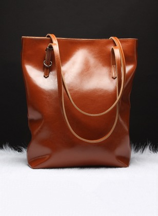 Shoulder Fashion Real Leather Black Blue Burgundy Brown Large Bags