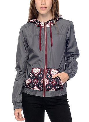 Polyester As Picture Short Long Sleeve Hooded Coats & Jackets