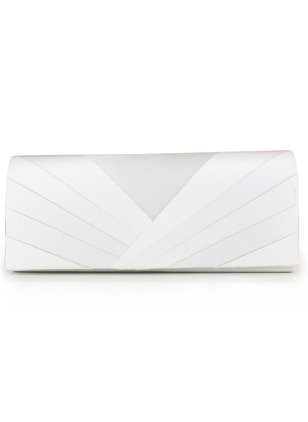 Shoulder Clutches Fashion Polyester White Silver Royal Blue Small Bags