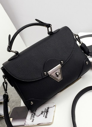 Shoulder Totes Fashion PU Black Gray Burgundy Small Bags
