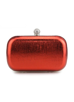 Clutches Fashion PU Black Gold Red Silver Apricot Small Bags