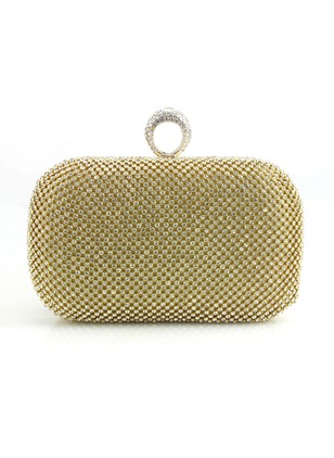 Fashion Gold Small Studded Bags