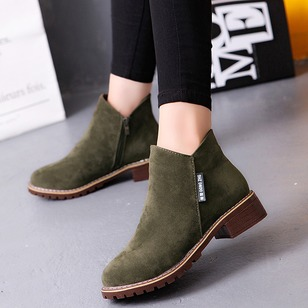 Others Boots Nubuck Low Heel Shoes