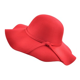 Casual Polyester Bow Solid Hats