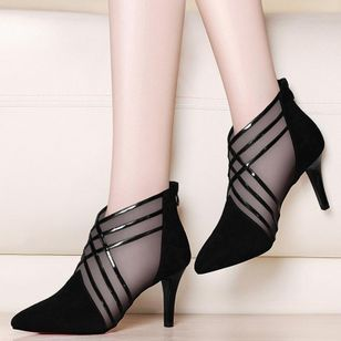 Women's Pointed Toe Stiletto Heel Pumps (1312555)
