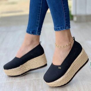 Women's Cloth Platforms (100772239)