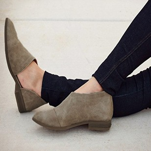 Others Suede Flat Heel Shoes