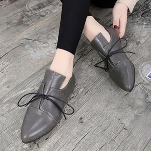 Bowknot Flats Flat Heel Shoes