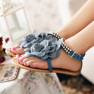 Women's Sandals Sandals Flat Heel PU Shoes