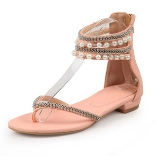 Women's Sandals Sandals Low Heel PU Shoes