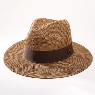 Polyester Hollow Out Solid Hats