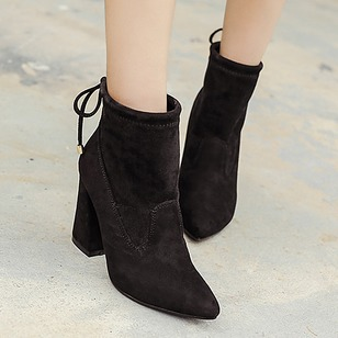 Women's Pumps Pumps Chunky Heel Suede Shoes