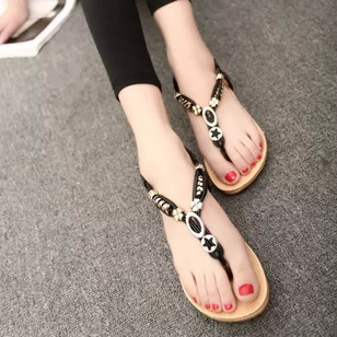 Women's Sandals Flats Flat Heel PU Shoes