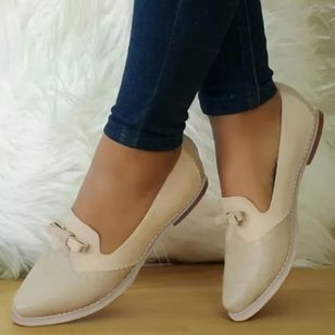Women's Bowknot Pointed Toe Low Heel Pumps (1522344)