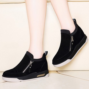 Women's Boots Ankle Boots Wedge Heel PU Shoes