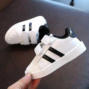 Boys' Split Joint Stitching Lace Magic Tape Outdoor Boys' Shoes