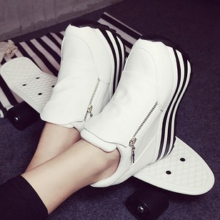 Women's Platforms Platform Flat Heel Canvas Shoes