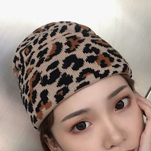 Casual Leopard Hats