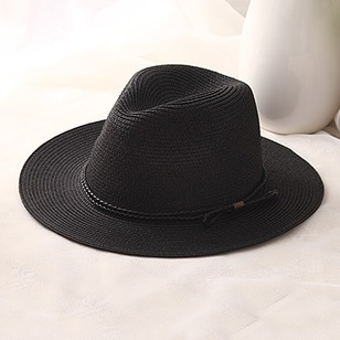 Vintage Straw Others Solid Hats
