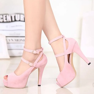 Women's Pumps Pumps Stiletto Heel Suede Shoes