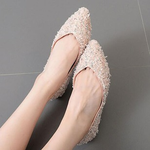 Women's Flats Flats Flat Heel PU Shoes
