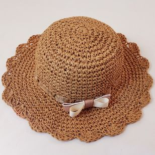 Elegant Bow Solid Hats (4126956)