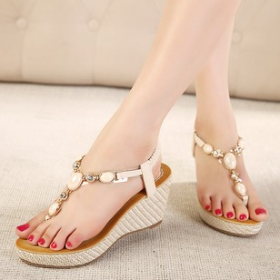 Others Slingbacks PU Wedge Heel Shoes