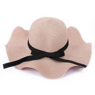 Elegant Bow Solid Hats (4039207)