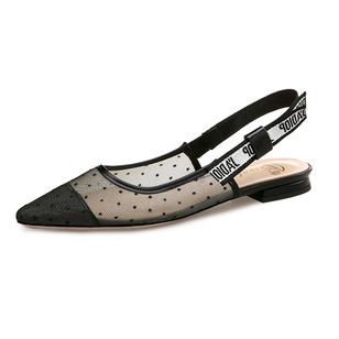 Women's Sandals Flats Closed Toe Flat Heel Lace Shoes
