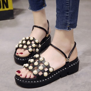 Pearl Platform PU Others Shoes