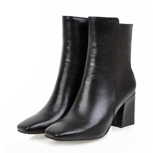 Others Ankle Boots Chunky Heel Shoes