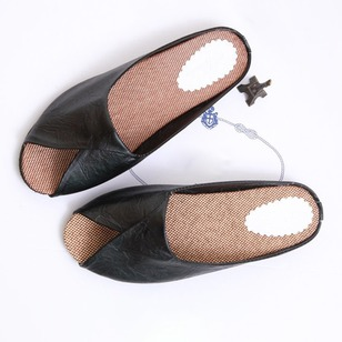 Slippers PU Low Heel Shoes