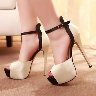 Women's Sandals Sandals Stiletto Heel PU Shoes
