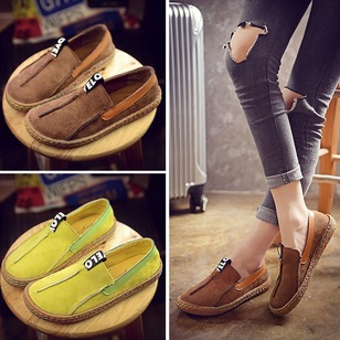 Others Flats Nubuck Flat Heel Shoes