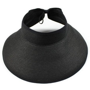 Casual Straw Solid Hats