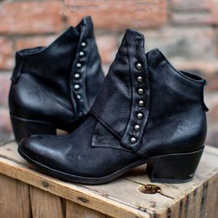 Women's Ankle Boots Low Heel Boots (112236730)