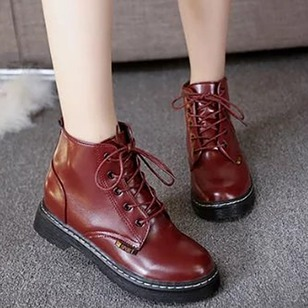 Women's Boots Boots Flat Heel PU Shoes