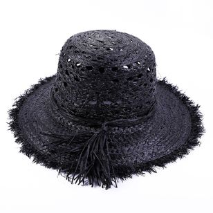 Casual Hollow Out Tassel Solid Hats (1541702)