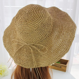 Straw Hollow Out Solid Hats