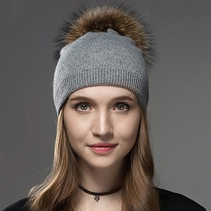 Casual Wool Others Solid Hats