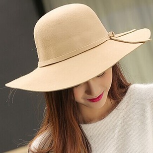 Elegant Polyester Others Solid Hats
