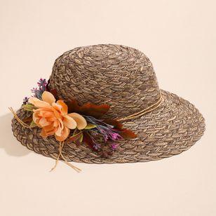 Elegant Flowers Solid Hats (4126959)