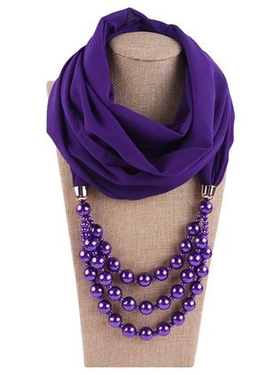 Casual Solid Scarves (119992948)