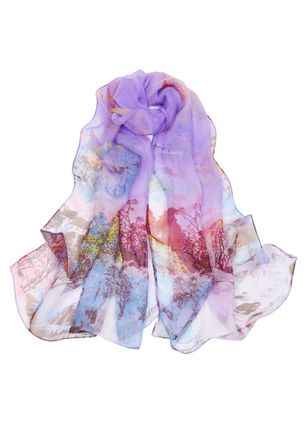 Casual Color Block Scarves (4126936)