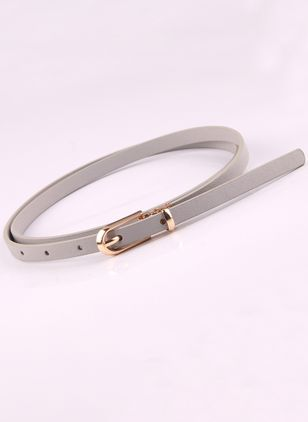 Elegant Metal Hollow Out Solid Belts