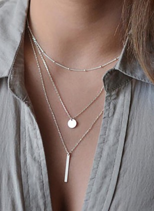 No Stone Pendant Necklaces (1181804)